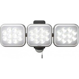 RITEX フリーアーム式LEDセンサーライト(12W×3灯...