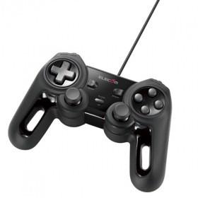 USBゲームパッド/13ボタン/Xinput/振動/連射/高耐...