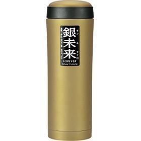 銀未来 広口ボトル 500mlゴールド EBT0302