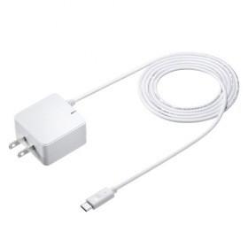 QuickCharge3.0対応AC充電器(USBTypeCケーブル一...