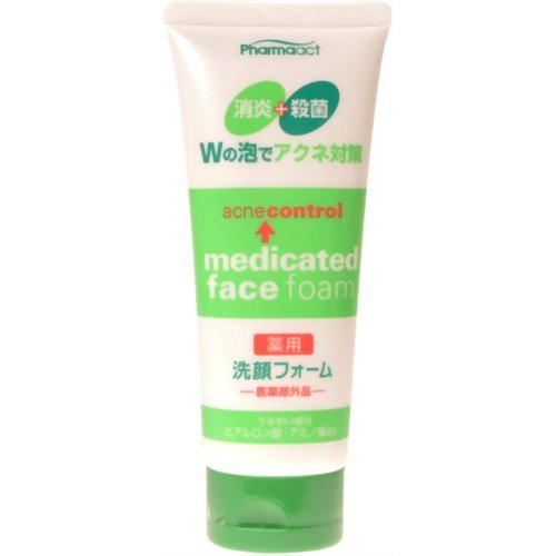 [熊野油脂]ファーマアクト 薬用洗顔フォーム 130g...