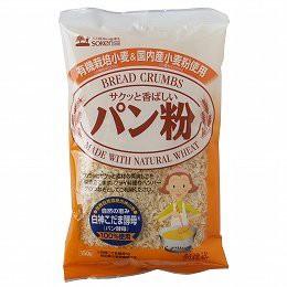 創健社 有機栽培小麦&国内産小麦粉使用 パン粉 1...