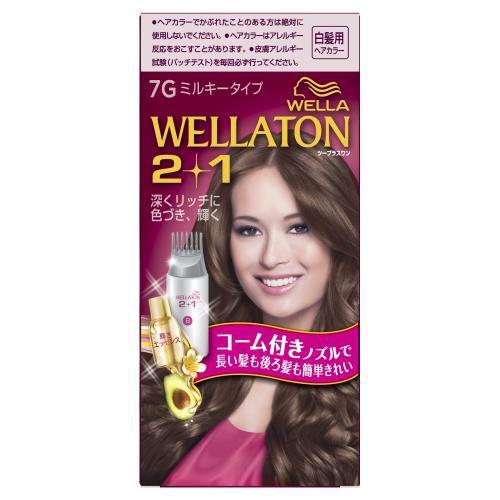 ウエラ (WELLA)ウエラトーン 2+1 ミルキー EX 7G ...