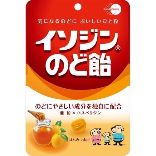 【ゆうメール便!送料無料】イソジンのど飴 はち...