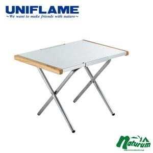 ユニフレーム アウトドアテーブル 焚き火テーブル...