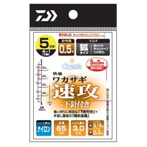 ダイワ 渓流仕掛け・淡水仕掛け 快適ワカサギSS(...