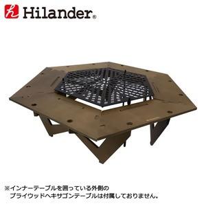 ハイランダー アウトドアテーブル スチールヘキサ...