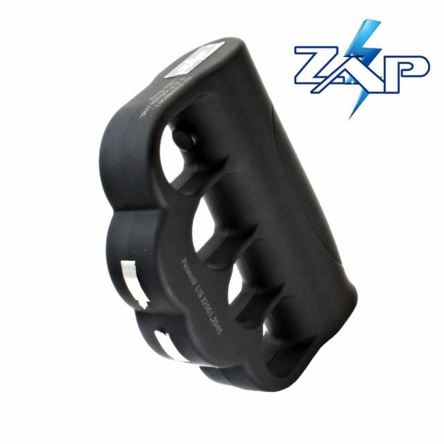 ZAP ナックル型 スタンガン 95万ボルト 護身グッ...