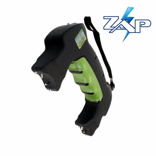 ZAP グリップ型 スタンガン 120万ボルト 護身グッ...
