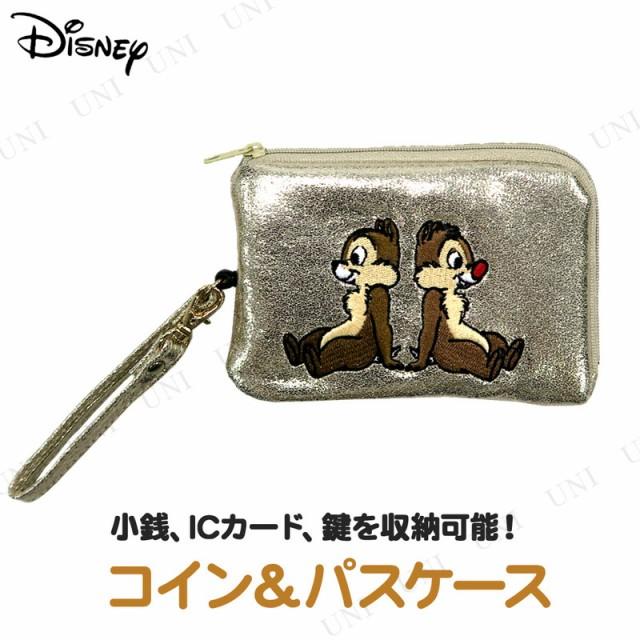 ディズニー コイン&パスケース チップ&デール ...
