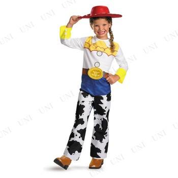 ジェシー クラシック 女の子用 3T-4T ハロウィン 仮装 衣装 コスプレ コスチューム 子ども用 キッズ こども パーティーグッズ ディズニー