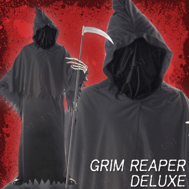 【SALE】 GRIM REAPER DELUXE / ADULT 仮装 衣装 ...
