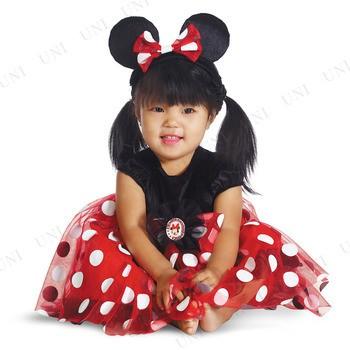 8c9f7669a7352 ミニーマウス レッド ベビー用 S コスプレ 衣装 ハロウィン 仮装 子供 ディズニー コスチューム 子ども用 キッズ