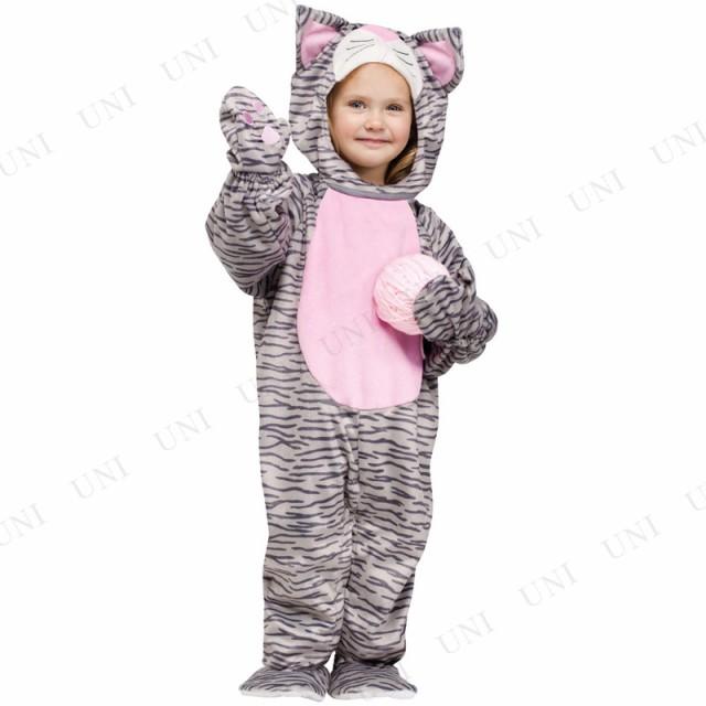 c94bae3f74a49 着ぐるみ しましまネコ 子供用 Tod コスプレ 衣装 ハロウィン 仮装 子供 アニマル 動物 猫 着ぐるみ !