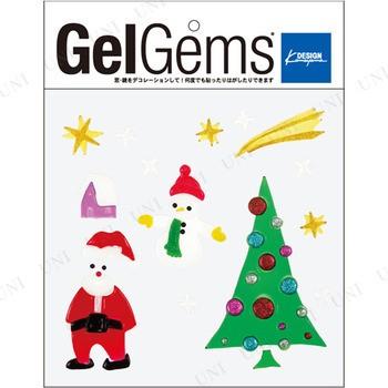 ジェルジェムバッグL(ハッピーXマス) クリスマスパーティー パーティーグッズ 雑貨 クリスマス飾り 装飾 デコレーション 窓 鏡