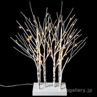 LEDホワイトブランチスタンド|クリスマス (Xmas)...