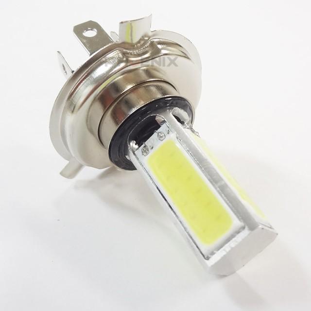 5254 クルマ バイク H4 LED ヘッドライト バルブ ...