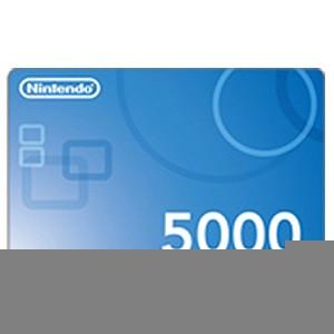任天堂 ニンテンドープリペイドカード 5000 (ポイ...