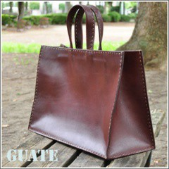 【特価品】GUATE(グアテ) 手縫いトートバッグ