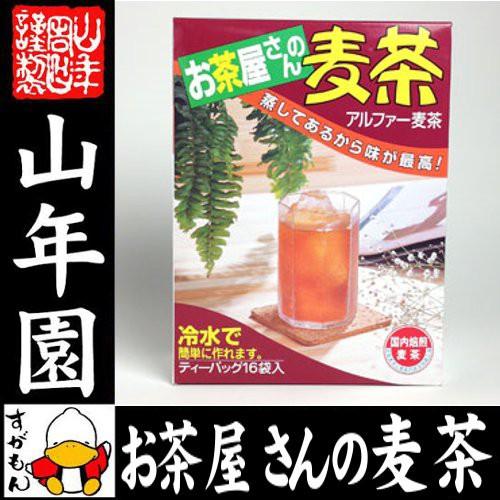 麦茶 国産 むぎ茶 10g×16袋 送料無料 美味しい麦...