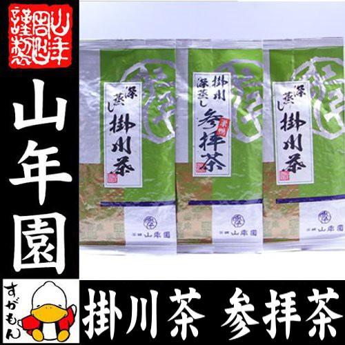 日本茶 お茶 茶葉 参拝茶100g×1袋+掛川深蒸し茶1...