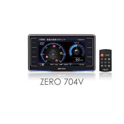 COMTEC コムテック ZERO704V レーダー探知機 沖縄...