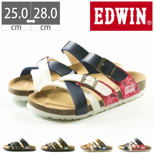 サンダル エドウィン EDWIN コンフォート DM-EW91...
