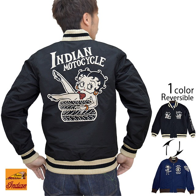 BETTYコラボツアージャケット Indian Motocycle B...