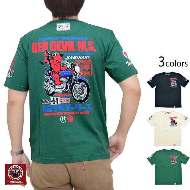 TEDMAN×カミナリ半袖Tシャツ カミナリ TDKMT-16 ...