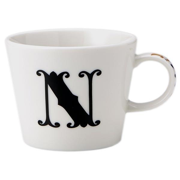 アルファベット/マグカップ「N」美濃焼/イニシャ...