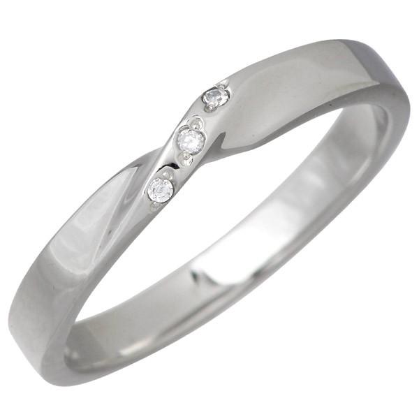 ヴィー vie ステンレス リング 指輪 金属アレルギ...