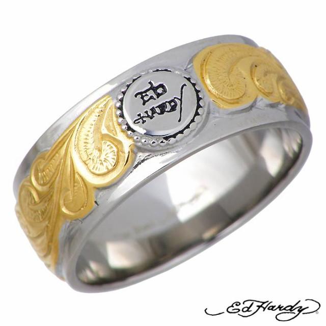 Ed Hardy エドハーディー ハワイアン リング 指輪...
