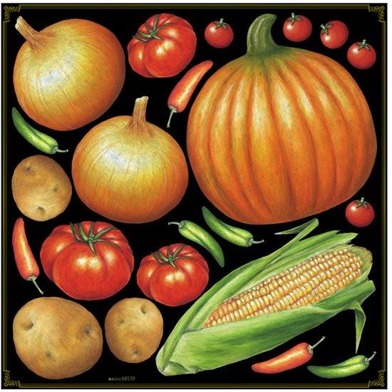 野菜アソート(玉ねぎ、かぼちゃなど) ボード用イ...