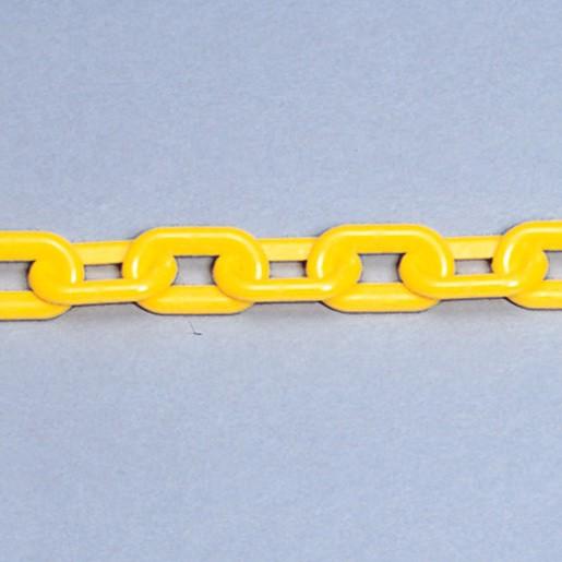 プラスチックチェーン 1.5メートル 黄 871-10(安...
