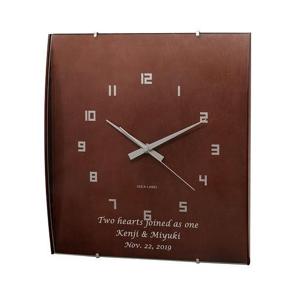 【新築祝い】【名入れ壁掛け時計】【名入れ時計】...