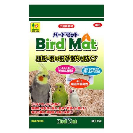 三晃商会 バードマット 806 (小鳥用床敷材) 5L ...