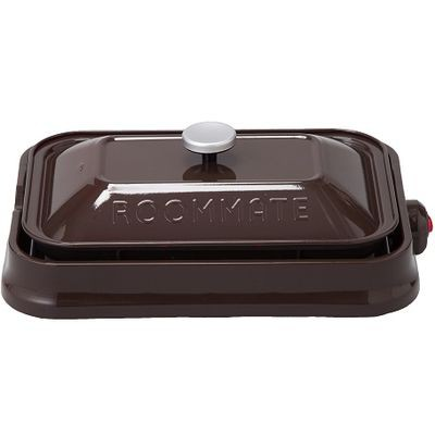 ROOMMATE EB-RM8600H-BR ROOMMATE 3WAYホットプレート(ブラウン) (EBRM8600HBR)