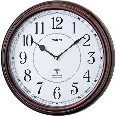 MAG W-700-BR-Z 電波掛け時計「キサラギ」 (W700B...