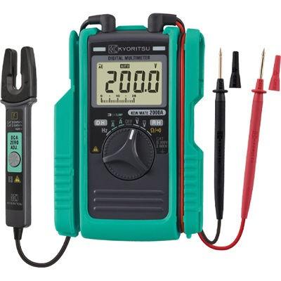 共立電気計器 2000A AC/DCクランプ付デジタルマル...