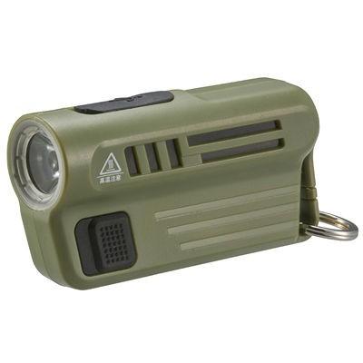 オーム電機 LHA-MUSB300-G LEDミニライト(USB充電...
