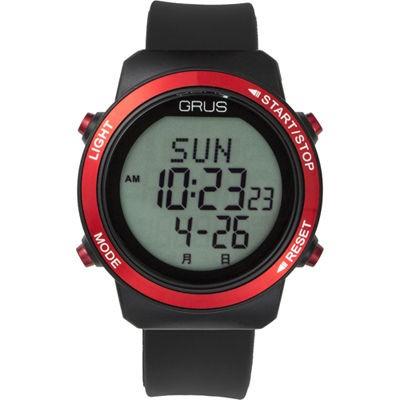 GRUS GRS001-01 腕時計 歩幅計測 ウォーキングウ...