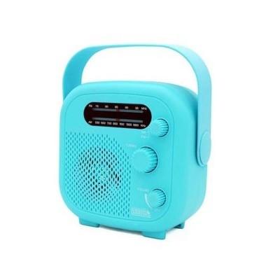 ヤザワ SHR02BL IPX5対応の防水シャワーラジオ(ブ...
