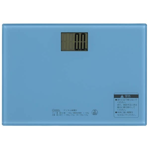 オーム電機 【送料無料】HBK-T101-A デジタル体重...