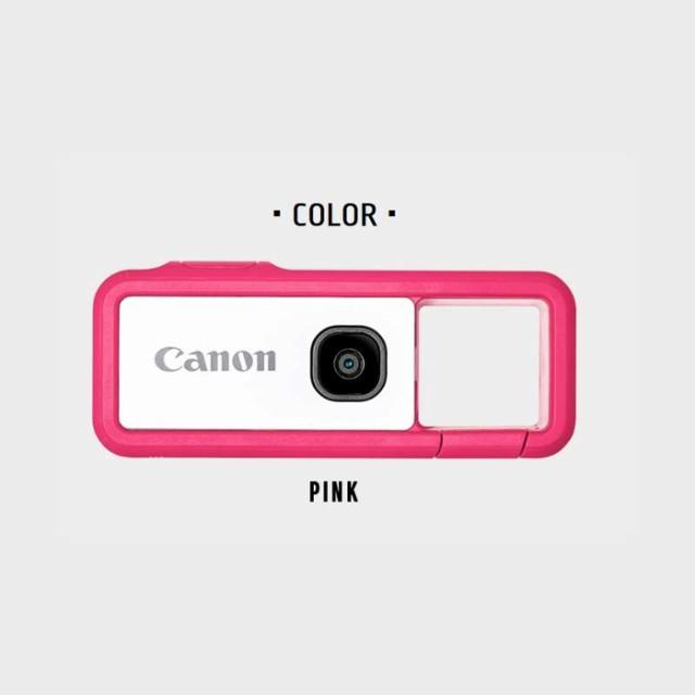 【納期目安:1週間】キヤノン FV-100-P デジタルカメラ iNSPiC REC ピンク (FV100P)