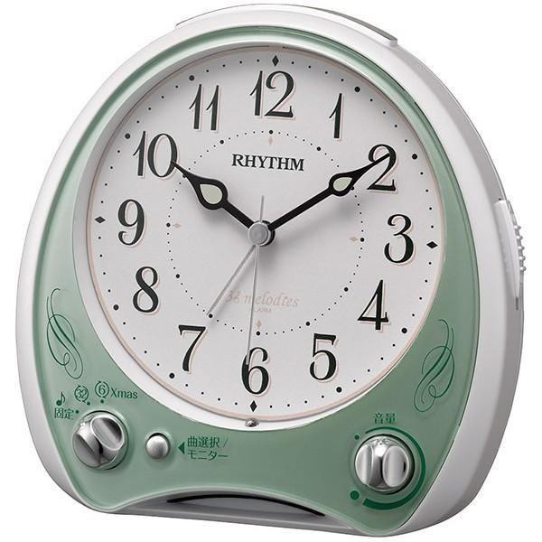 リズム時計 【送料無料】8RM400SR05 目覚まし時計...