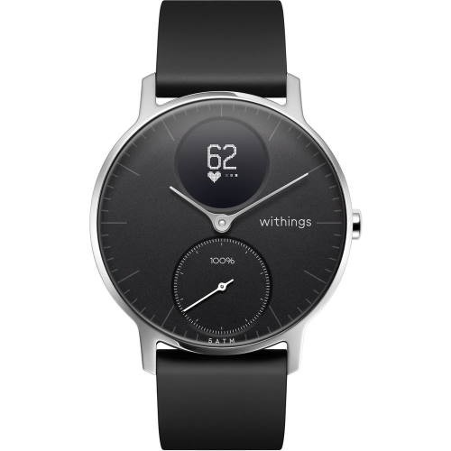 Withings HWA03-36BLACK-ALL-JP(Black) Steel HR...