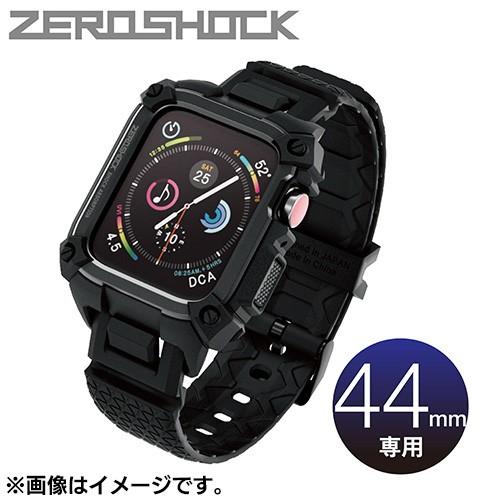 エレコム AW-44ZEROBK(ブラック) アップル ウォッ...