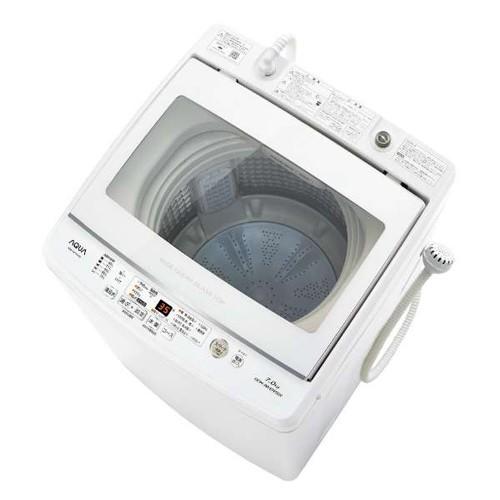アクア AQW-GV70J-W(ホワイト) 全自動洗濯機 上開...