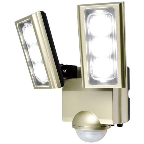 エルパ ESL-ST1202AC LEDセンサーライト 2灯 コン...