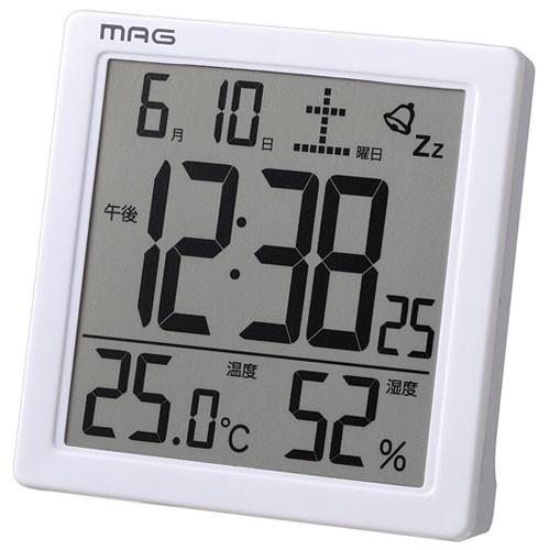 ノア精密 T-726 温度湿度表示付きクロック カッシ...
